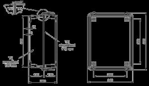 ADS-B Sensor Station Outdoor Dimension