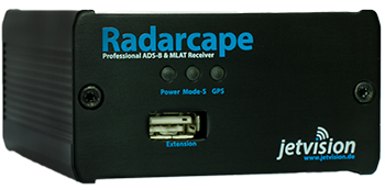 Radarcape ADS-B Receiver Front View