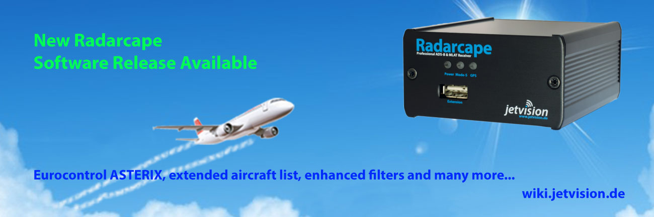 Radarcape new software release available